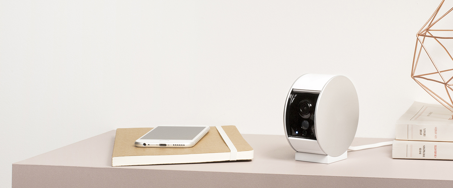 Somfy Security Camera, camera connectee