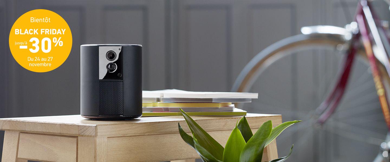 Somfy One camera et alarme